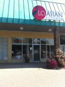 LC's Asian Kitchen - Our Store Front