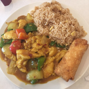 Curry Chicken Combo